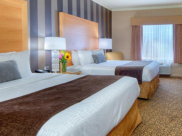 Best Westeren Plus Dixon Davis, California - Double Queen Bed Rooms